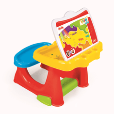 DOLU Nagy gyerek asztal paddal
