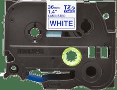 Brother trak TZE-263 za P-touch tiskalnike, 36 mm, belo/moder