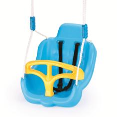 DOLU Houpačka plastová s popruhy, Modrá