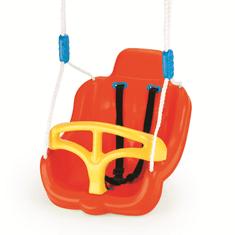 DOLU otroški sedež za gugalnico, oranžen