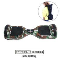 Xplorer skuter rolka Hoverboard City V2, 16,5 cm, kamuflažna zelena