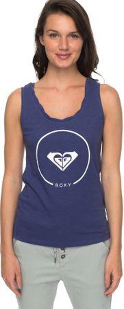 Roxy ženska majica Billy Twist Ess J Tees Bre0 Deep Cobalt, modra, XL
