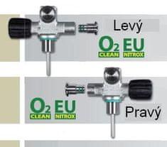 SCUBATECH Ventil mono rozšiřitelný EU NITROX M26/2 ,Pravý a Levý