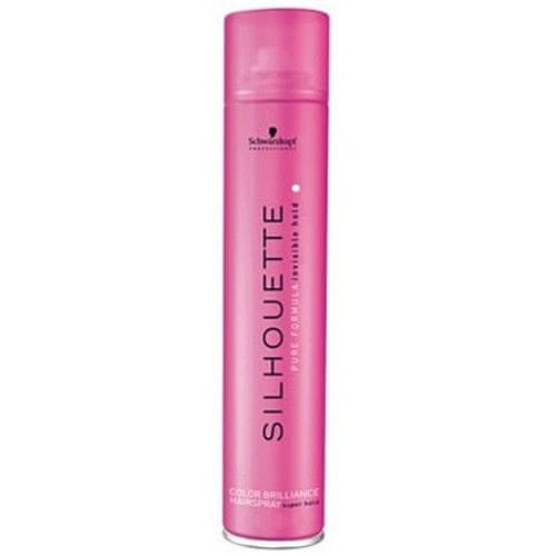 Schwarzkopf Prof. Fixační sprej pro zářivou barvu vlasů Silhouette (Color Brilliance Hairspray Super Hold) (Objem 500