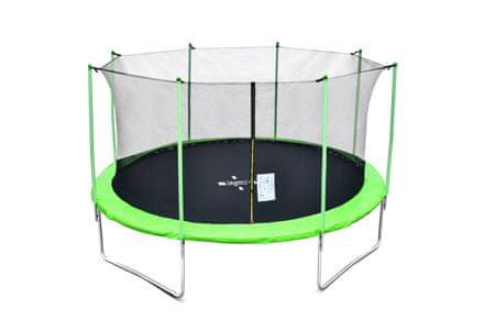 Legoni trampolin z zaščitno mrežo, 366 cm