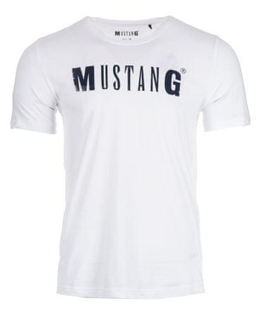 Mustang férfi póló L fehér  e55a14127b