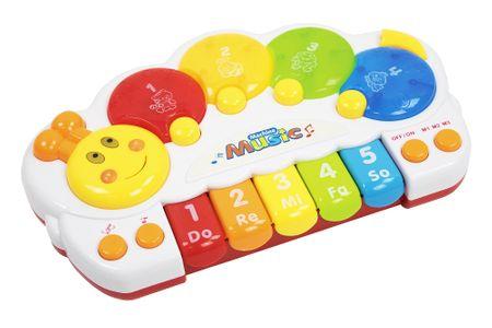 Let's play igrača gosenice z zvočno spremljavo