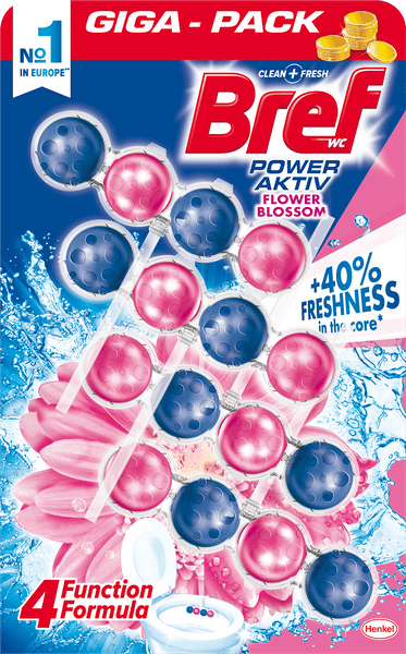 Bref Power Aktiv Quattro Flower 4x 50g
