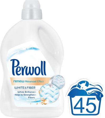Perwoll pralni gel Renew Advanced White, 2,7 l, 45 pranj