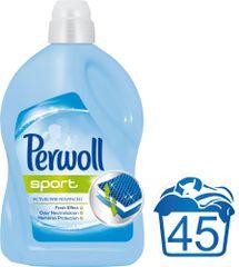 Perwoll pralni gel Sport, 2,7 l, 45 pranj