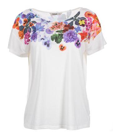 Desigual Desigual T-shirt damski L biały