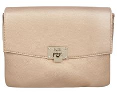 Guess Dámská kabelka Factory Women`s Alinda Convertible Clutch Gold