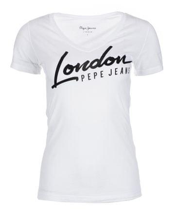 Pepe Jeans dámské tričko Cassidy L biela