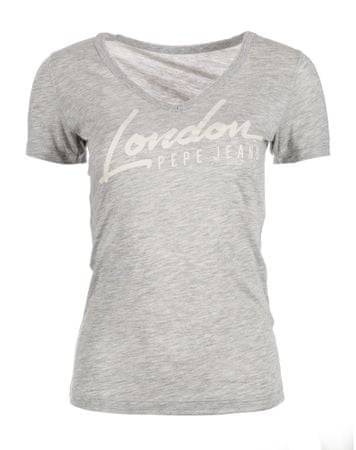 Pepe Jeans dámské tričko Cassidy S sivá