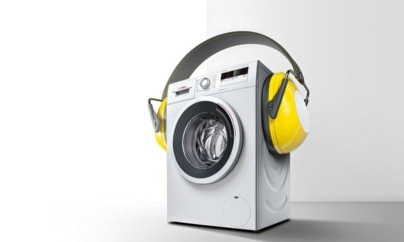 Bosch WAW28560EU snížení hluku