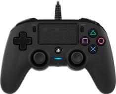 Nacon Wired Compact Controller / PS4, černý (ps4hwnaconwccb)