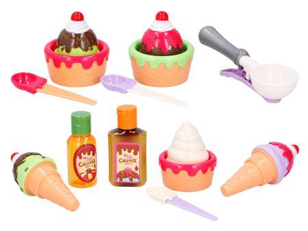 Let's play Cukrászda játékkészlet – fagyi és tortácskák.