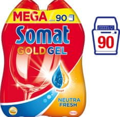 Somat Gold gel Neutra-Fresh 2 x 900 ml (90 pranj)