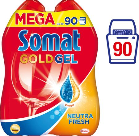 Somat Gold gel Neutra-Fresh 2 x 900 ml (90 pranj)
