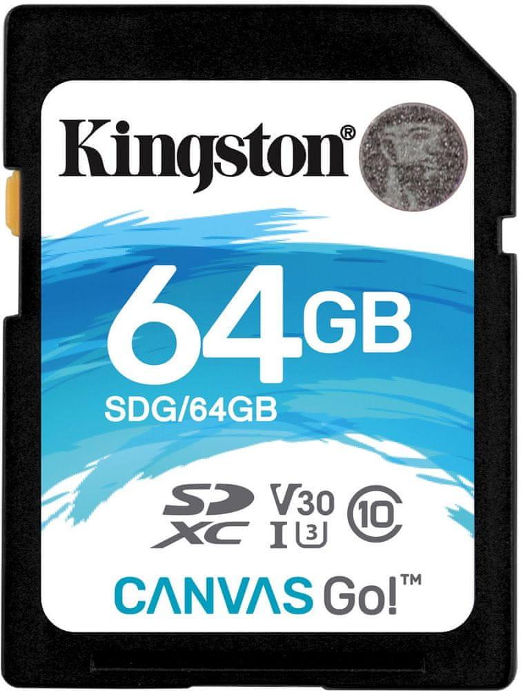 Kingston SDXC 64GB UHS-I U3 SDG/64GB