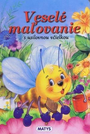 autor neuvedený: Veselé maľovanie s usilovnou včielkou