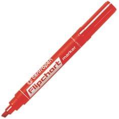 Centropen Značkovač 8560 Flipchart červený