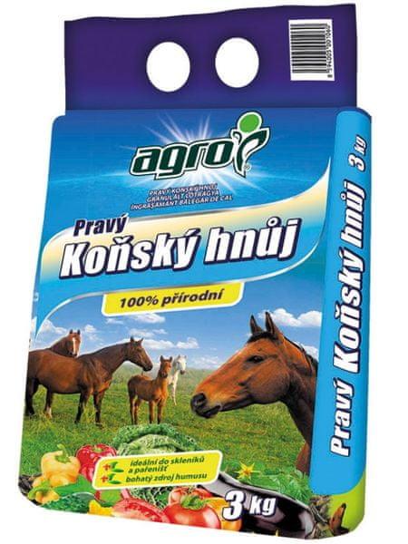 AGRO CS Koňský hnůj 3 kg