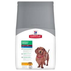 Hill's Canine Adult Perfect Weight Mini Kutyaeledel, 2 kg