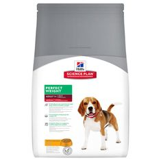 Hill's Canine Adult Perfect Weight Medium Kutyaeledel, 10 kg