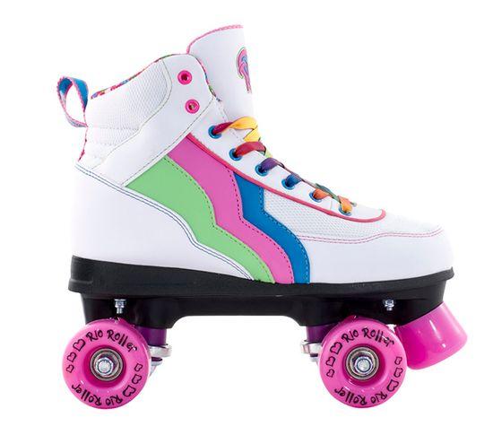 Rio Roller kotalke Classic Candi, belo-roza