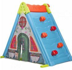 Feber zložljiva igralna hišica Play & Fold Activity House 3v1