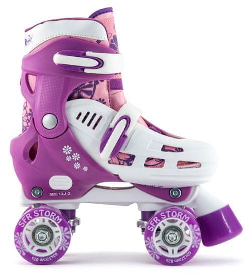 SFR Skates raztegljive otroške kotalke, vijolične