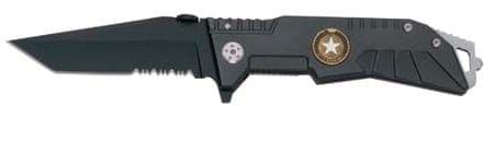 Ausonia zložljiv žepni nož z ročajem G10, 20 cm (26553)