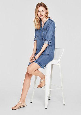 a55b2be53a s.Oliver női ruha 36 kék   MALL.HU