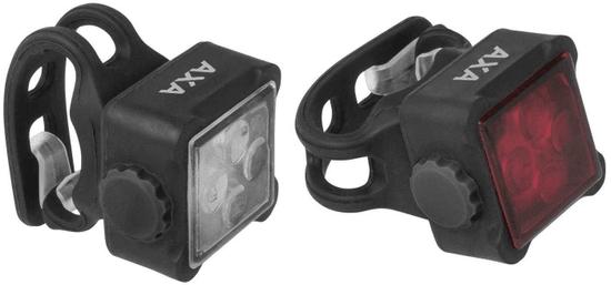 AXA zestaw lampek rowerowych Niteline 44-R