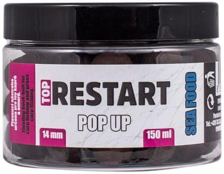 Lk Baits Pop-up Top ReStart 14 mm 150 ml purple plum