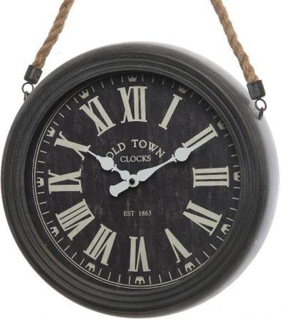 Kaemingk Nástěnné hodiny, 30 x 6 cm