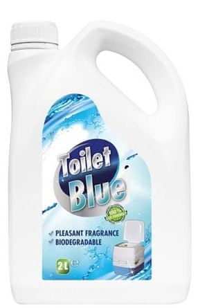 Happy Green Toilet-BLUE 2 l, punjenje