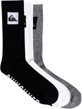 Quiksilver 3 Crew Pack M Sock Ast Assorted