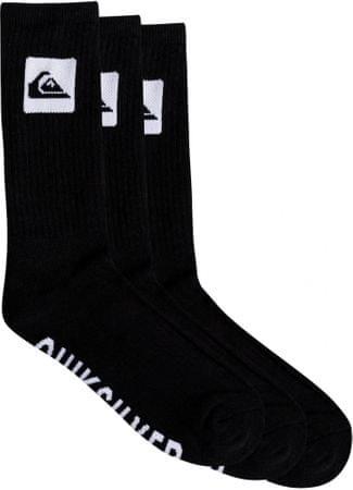 Quiksilver 3 Crew Pack M Sock Kvj0 Black