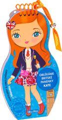 Camel Julie: Oblékáme britské panenky - Kate