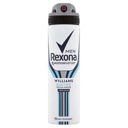 Rexona Antiperspirant v spreji Men Motionsense Williams Racing 150 ml
