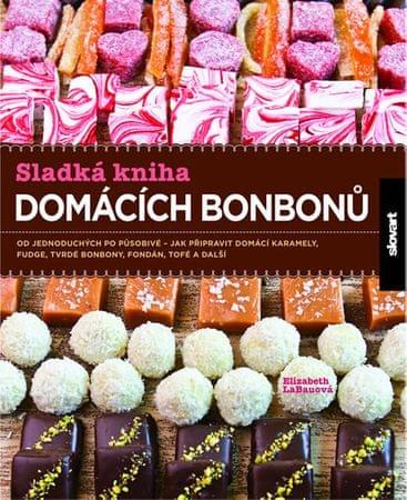 LaBauová Elizabeth: Sladká kniha domácích bonbonů