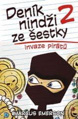 Emerson Marcus: Deník nindži ze šestky 2 - Invaze pirátů