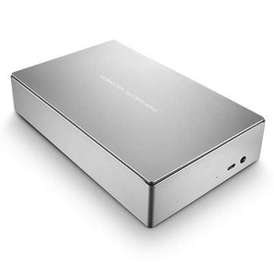LaCie prenosni zunanji disk Porsce Design 8 TB, USB-C 3.0, srebrn