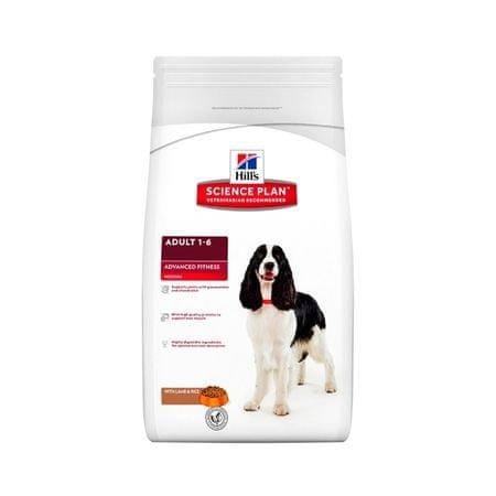 Hill's SP Adult Lamb & Rice kutyatáp - 3kg