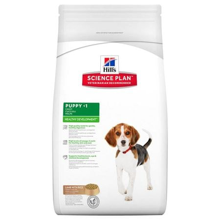 Hill's sucha karma dla szczeniąt SP Puppy  Lamb & Rice - 12kg