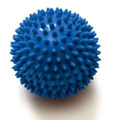Sissel masažna žogica Spiky Ball, 10 cm, modra