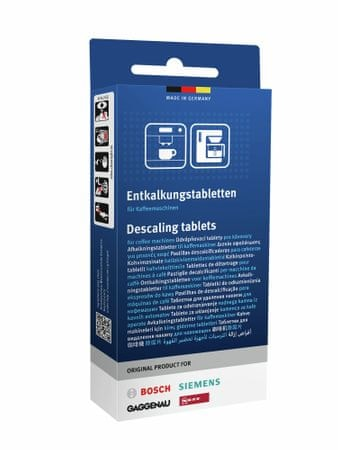 Bosch Odvápňovací tablety 311821