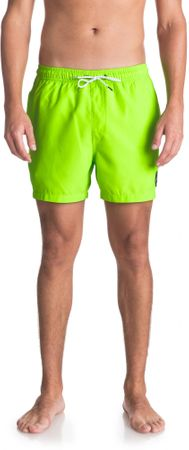 Quiksilver moške kopalne hlače Everydvl15 M Jamv Ggy0 Green Gecko, L, zelene